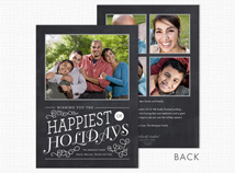Happiest of Holidays Photo Cards