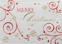 Embellished Christmas Greeting Cards
